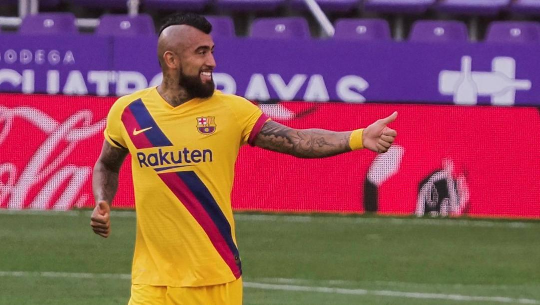 Arturo Vidal, 33 anni.