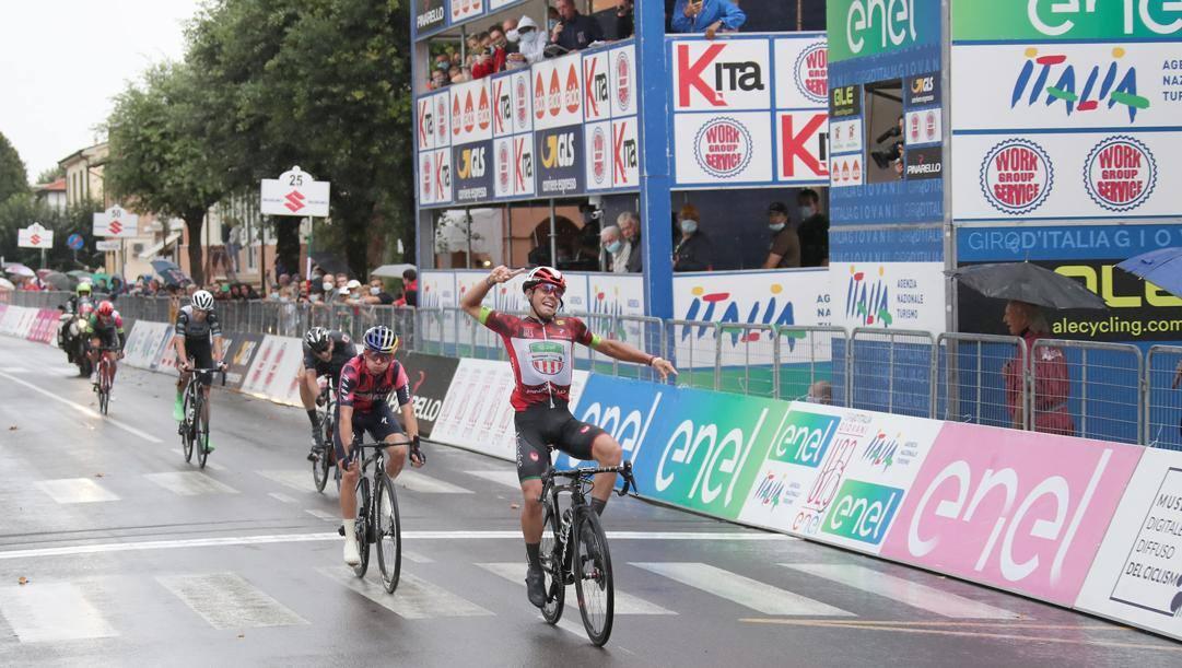 La vittoria di Luca Colnaghi a Mordano