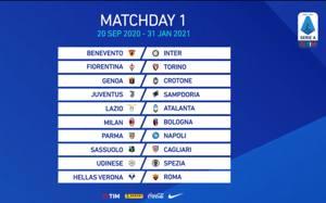 Gazzetta Calendario Serie A 2020 2021 Calendario Serie A, il sorteggio: alla prima Benevento Inter, Juve