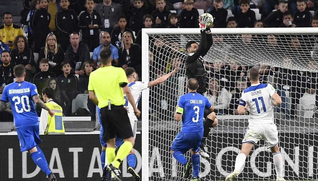 Italia-Bosnia del novembre 2019. LaPresse