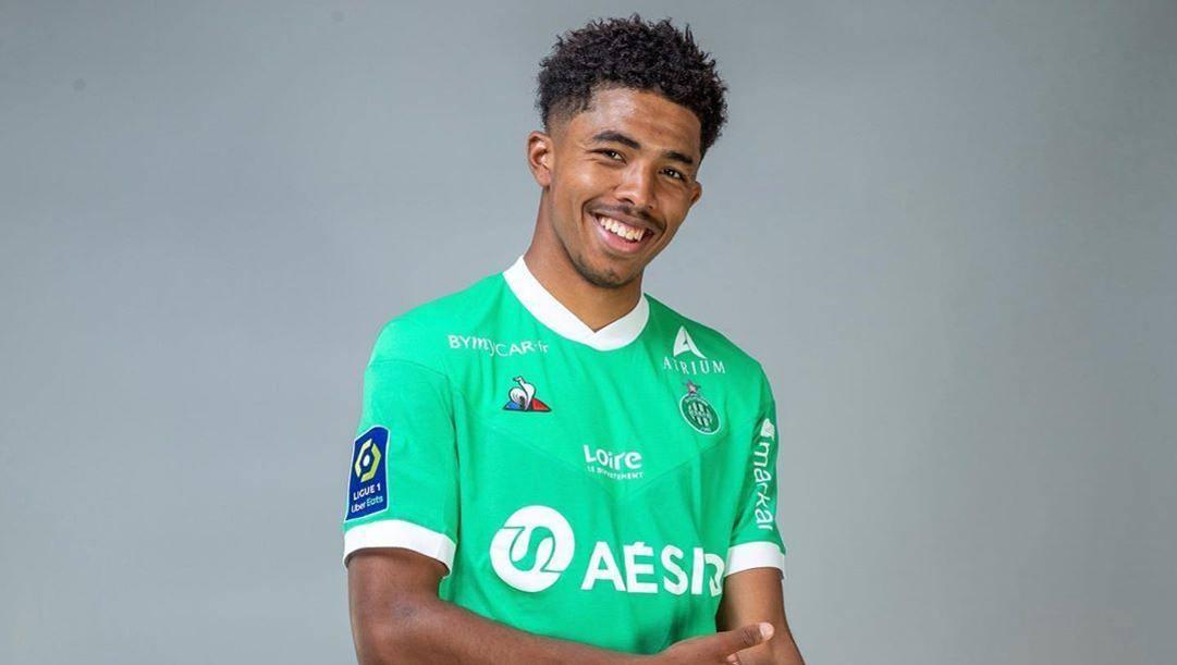 Wesley Fofana, 19 anni, difensore del Saint-Étienne. (Instagram)