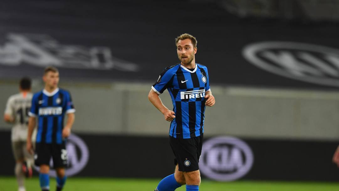 Eriksen, calciatore dell'Inter. Getty
