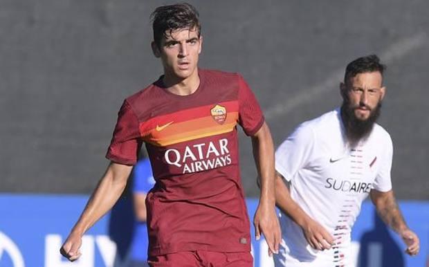 Gonzalo Villar, 22enne spagnolo della Roma. Lapresse