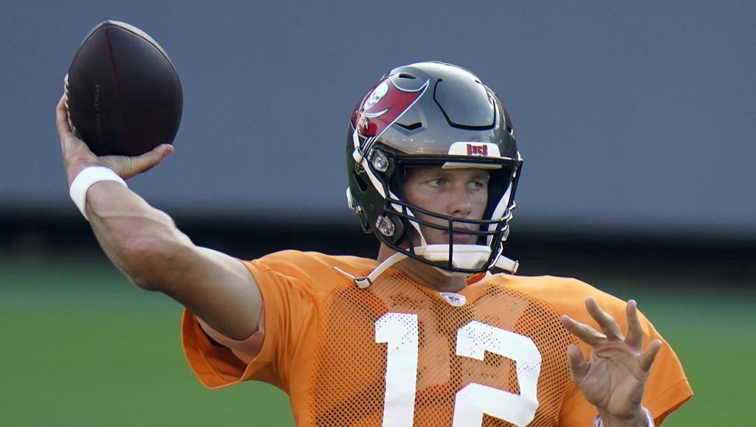 Tom Brady, prima stagione come qb di Tampa. Ap
