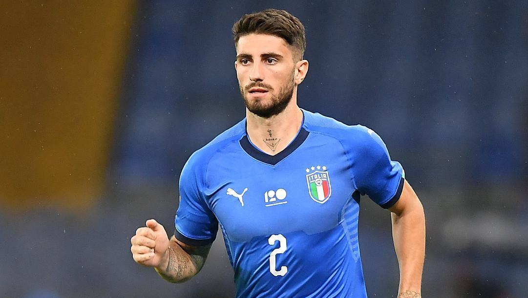 Cristiano Piccini con la maglia dell'Italia. Lapresse