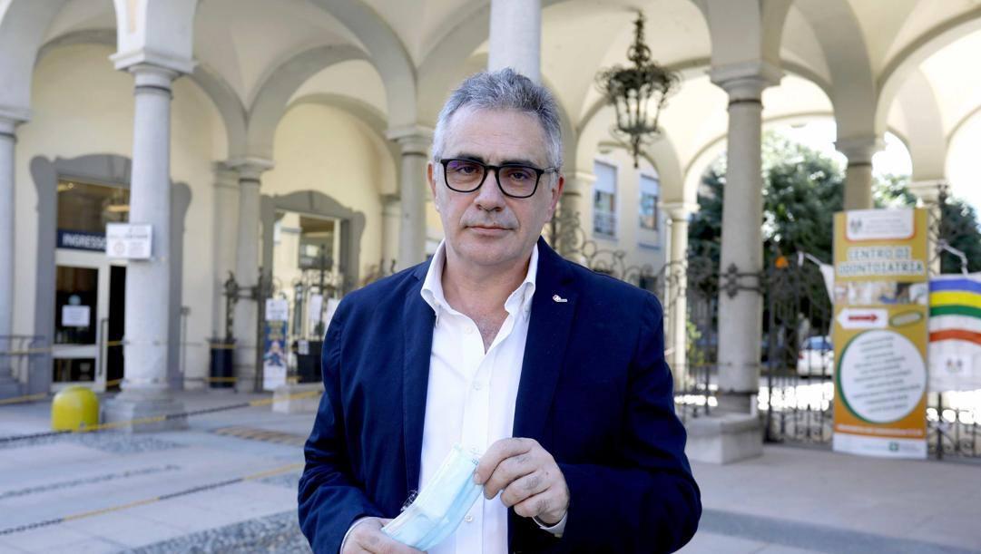 Il virologo Fabrizio Pregliasco. ANSA
