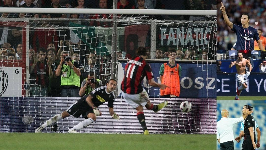 Il debutto col Milan sbagliando il rigore contro il Cesena, poi Psg, i Galaxy e il ritorno con Pioli in panchina