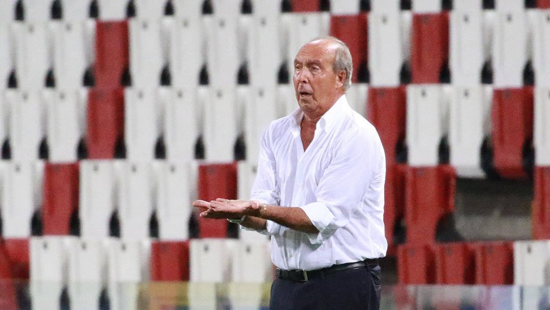 Gian Piero Ventura, ex allenatore del Torino. Lapresse