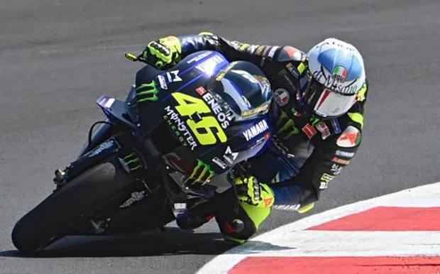 Valentino Rossi. Afp