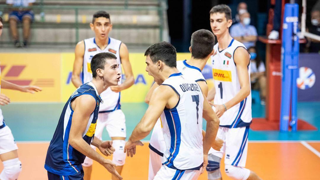 Gli azzurri campioni d'Europa. Fipav