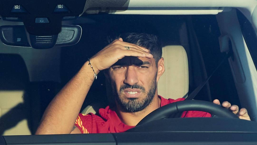 Suarez, obiettivo di mercato della Juventus. EPA