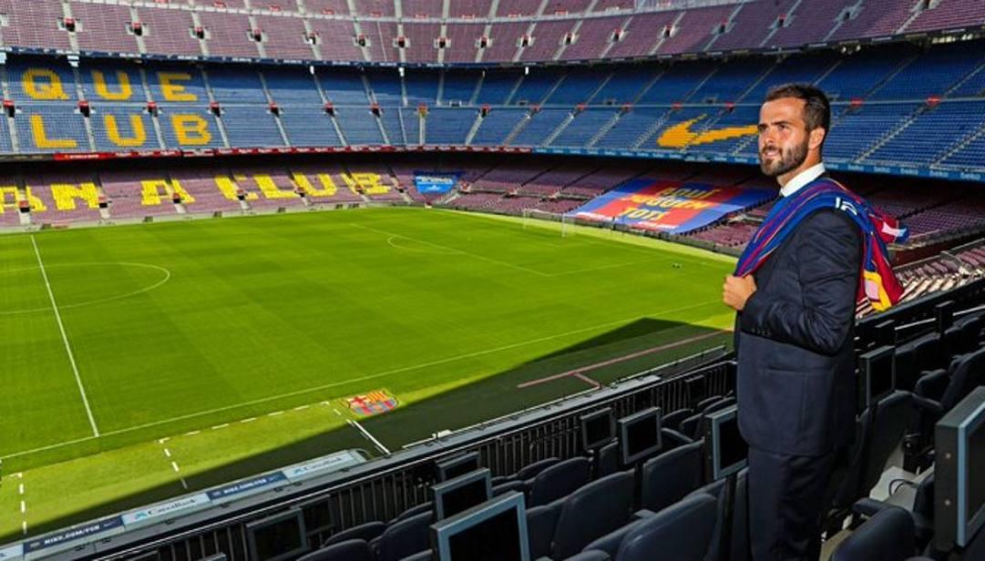 Miralme Pjanic al Camp Nou