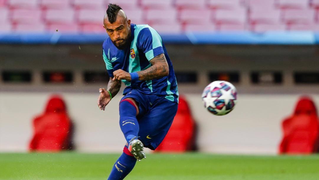 Vidal, obiettivo di mercato dell'Inter. EPA