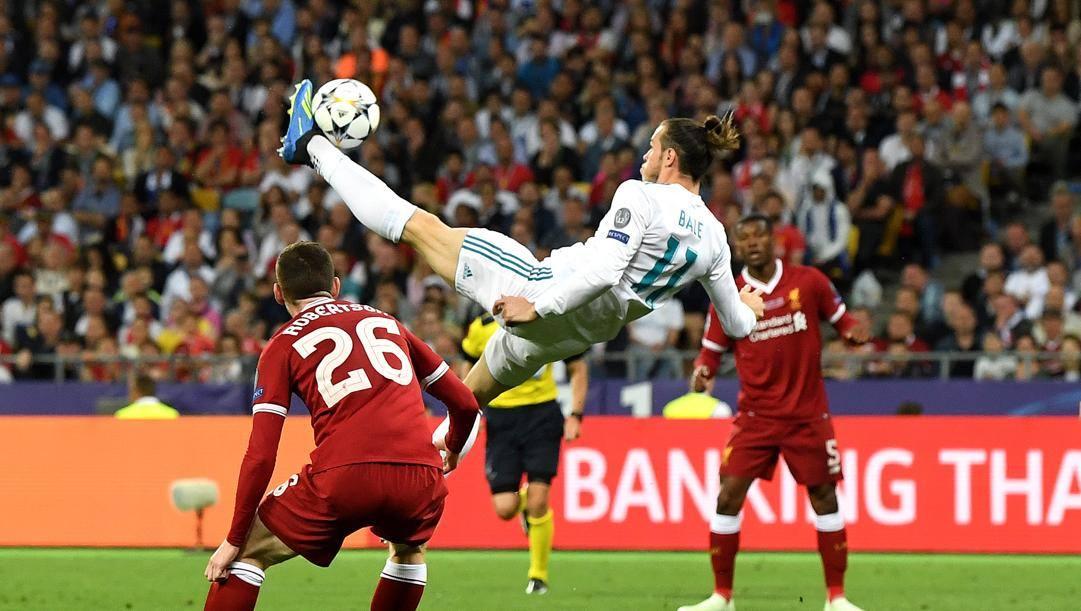La rovesciata di Bale nella finale di Champions 2018