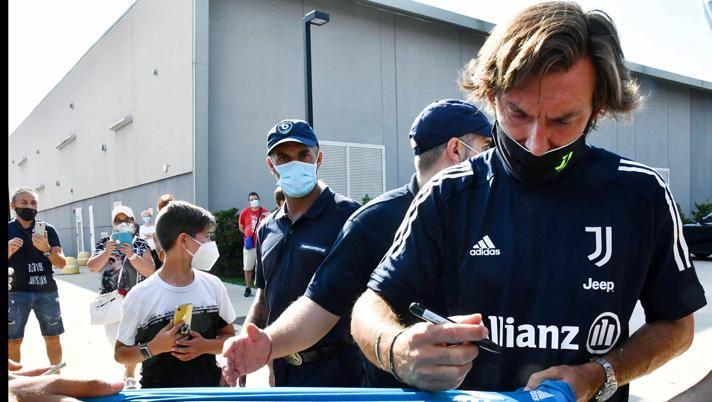 Andrea Pirlo, allenatore della Juve. Ansa
