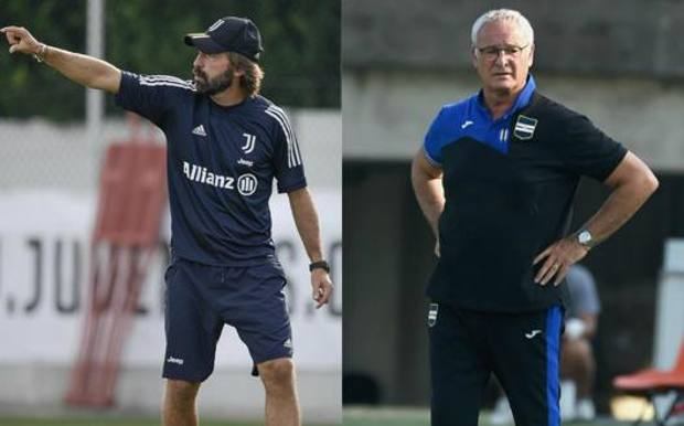 Andrea Pirlo e Claudio Ranieri