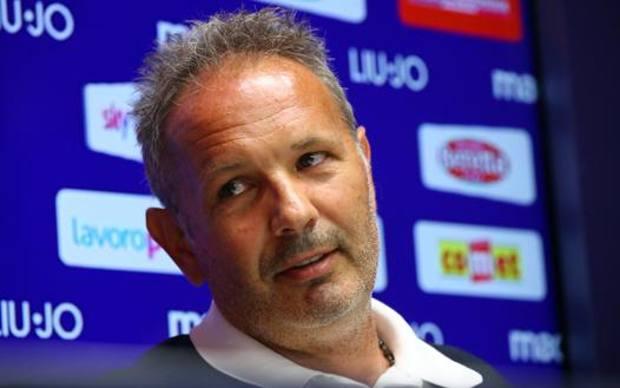 Sinisa Mihajlovic, allenatore del Bologna, Lapresse