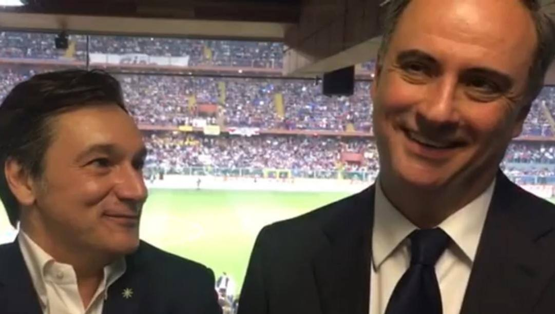 Fabio Caressa e Sandro Piccinini.