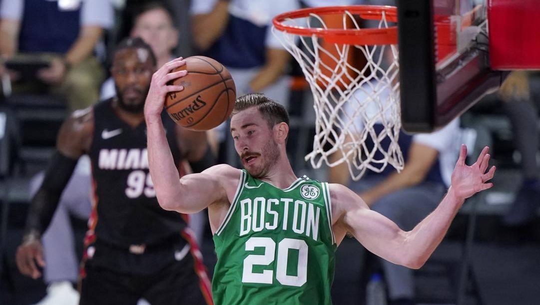 Gordon Hayward, 30 anni, ala dei Celtics. Lapresse