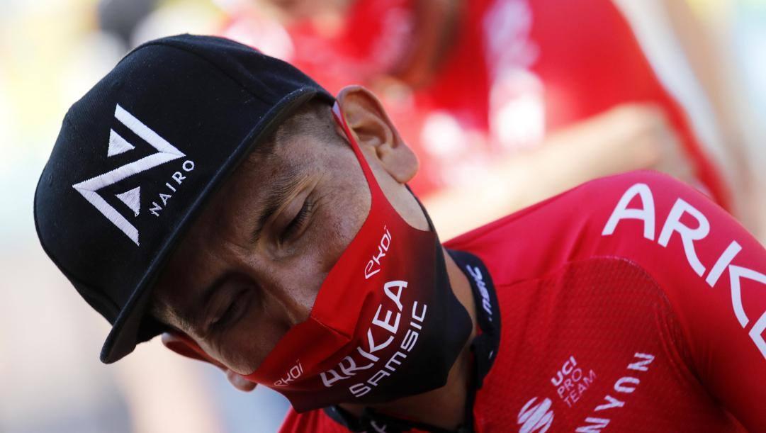 Nairo Quintana, 30 anni, ha chiuso il Tour al 17° posto EPA