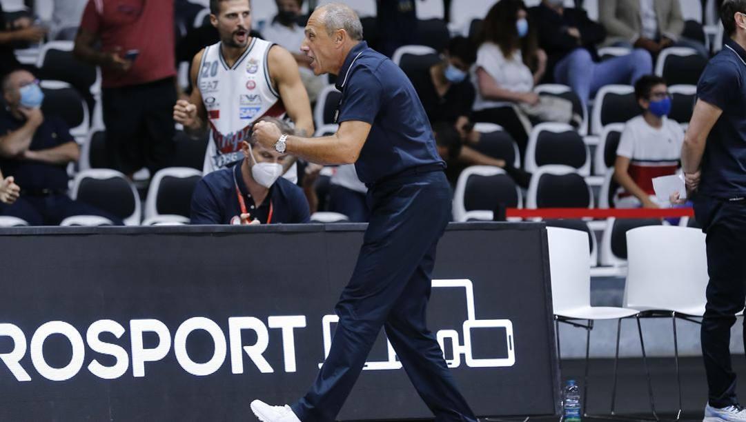 Coach Ettore Messina. CIAM/CAST