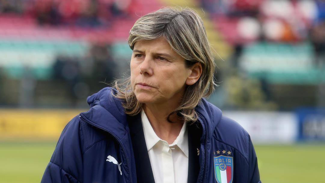 Milena Bertolini, 54 anni, c.t. delle azzurre. Getty