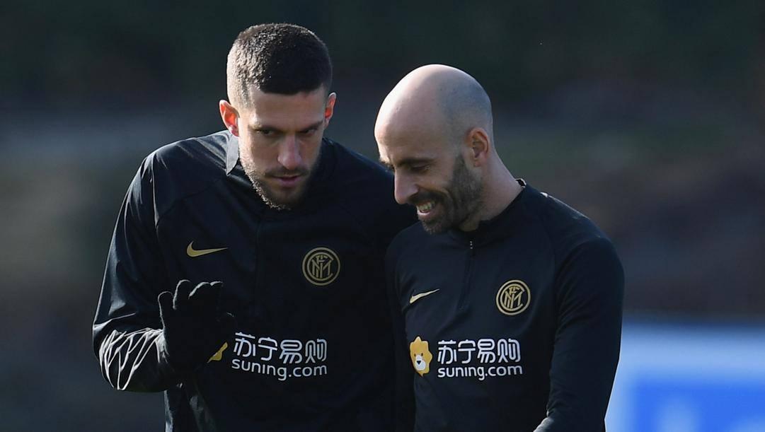 Cristiano Biraghi, 28, e Borja Valero, 35. Getty