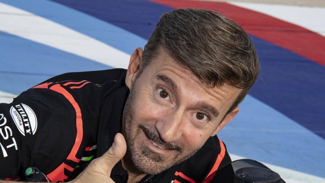 Max Biaggi, 49 anni, sei titoli mondiali tra 250 e Superbike. Milagro