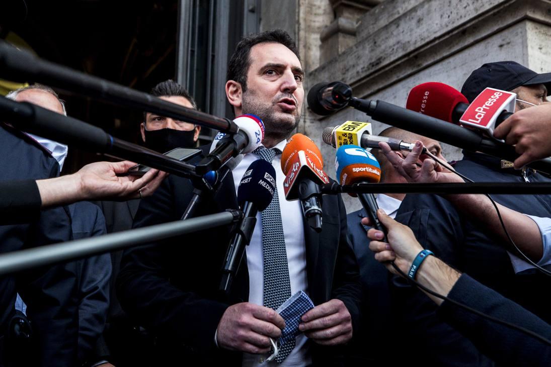 Vincenzo Spadafora, ministro per le Politiche giovanili e lo Sport. Ansa