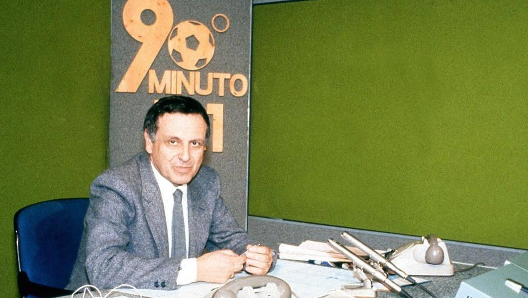 Paolo Valenti nello studio di 90° minuto