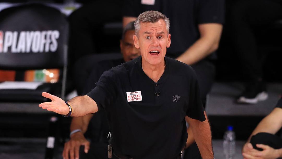 Billy Donovan, allenatore passato dai Thunder ai Bulls. Afp