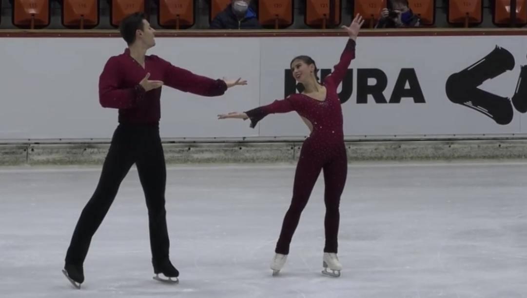 Rebecca Ghilardi-Filippo Ambrosini a Oberstdorf