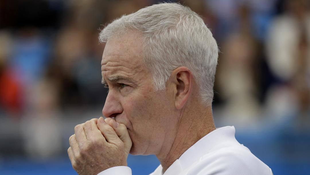 John McEnroe, 61 anni. Ap