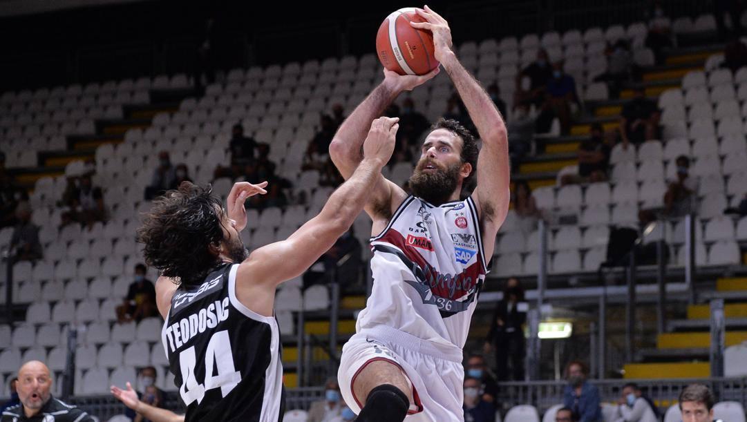 Gigi Datome, 32 anni, ala dell'Olimpia Milano. Ciamillo
