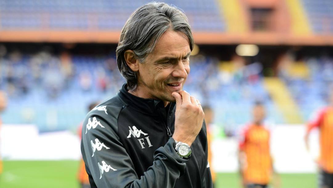 Filippo Inzaghi, allenatore del Benevento. Getty