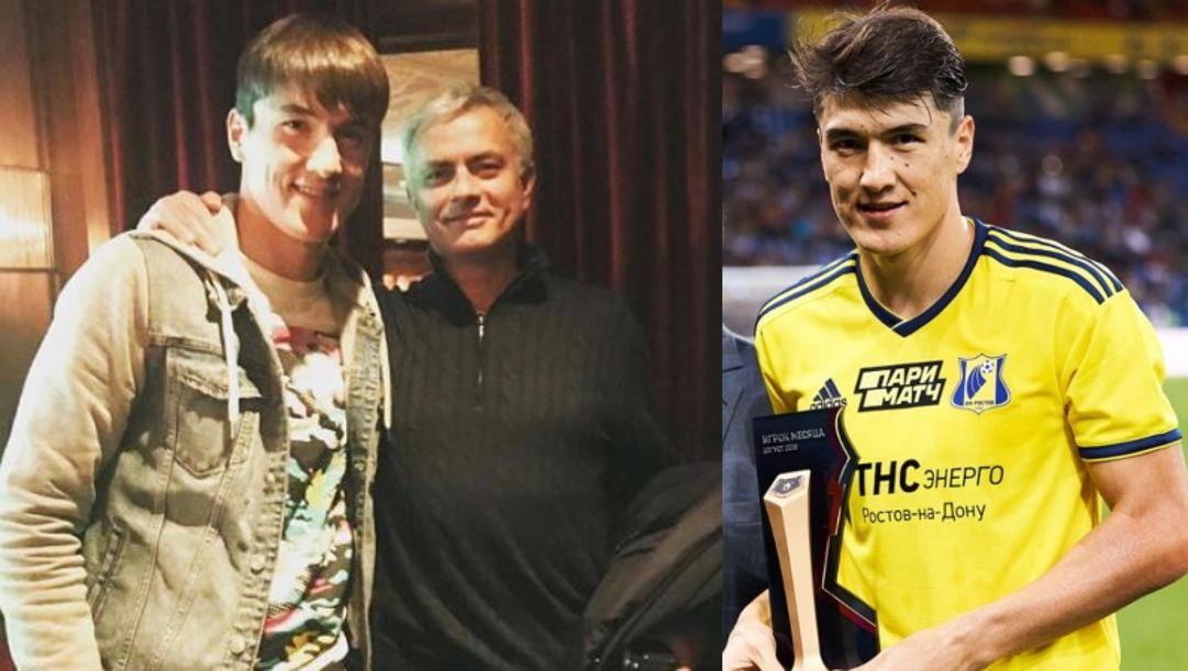Shomurodov e Mourinho. Getty