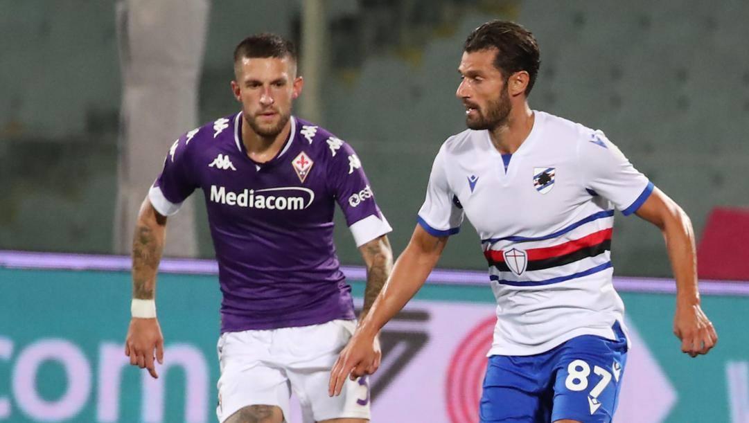 Antonio Candreva contro Cristiano Biraghi: sfida tra ex Inter in fascia. Ansa