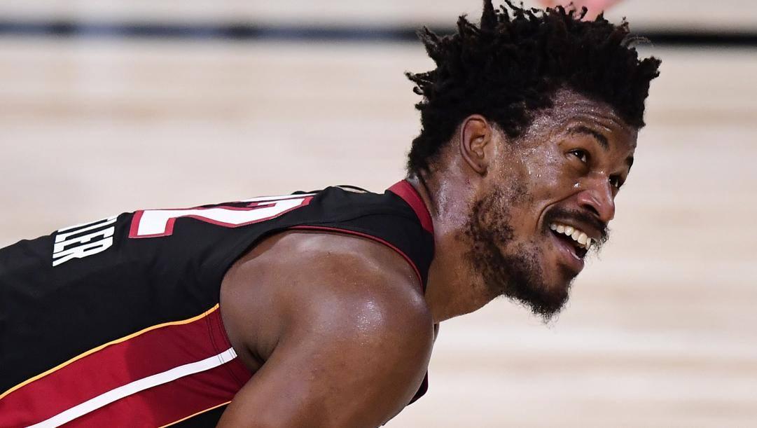 Jimmy Butler, 31 anni, prima stagione a Miami. Afp