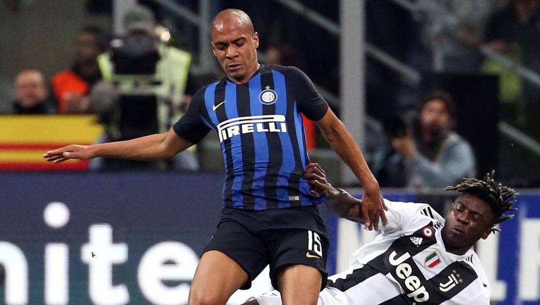 Joao Mario in maglia Inter. Ansa