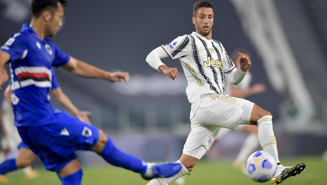 Rodrigo Bentancur nella gara contro la Sampdoria. Getty