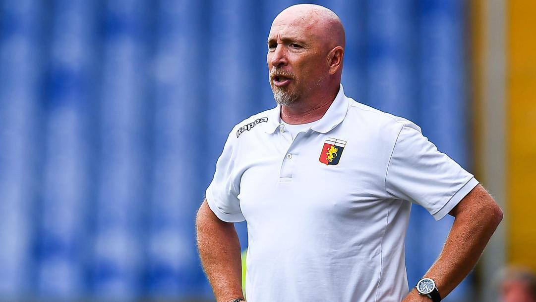 Maran, tecnico del Genoa. Ansa
