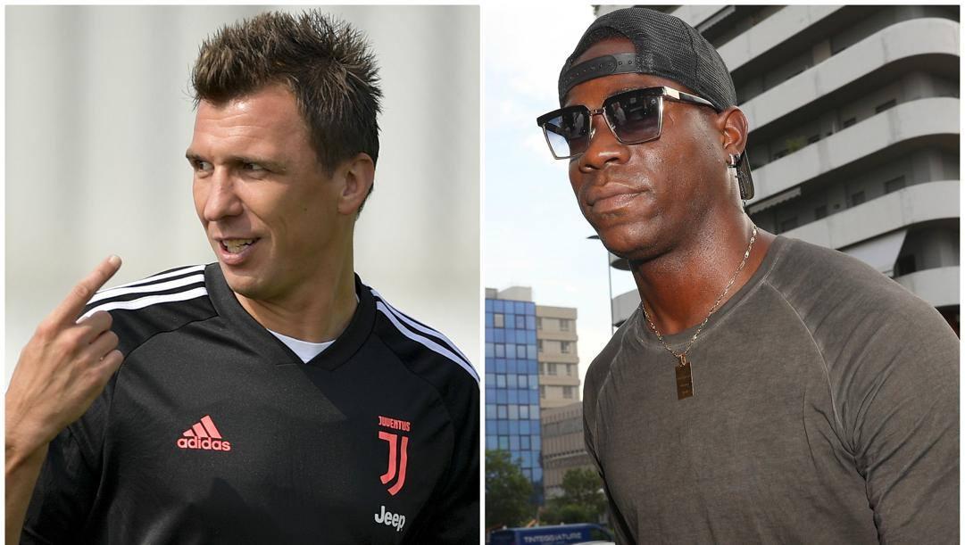 Mnandzukic e Balotelli.