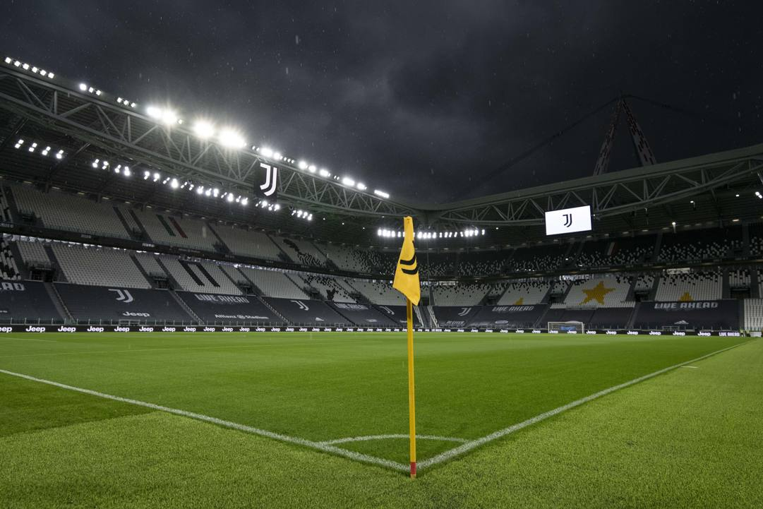 L'Allianz Stadium di Torino senza protagonisti. Getty