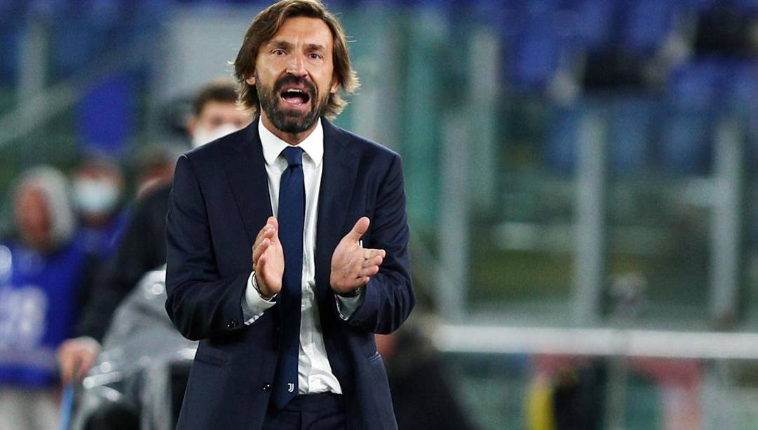 Il tecnico della Juve Andrea Pirlo. Ansa