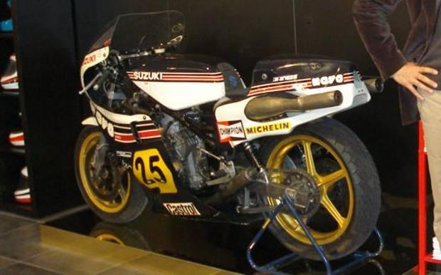 La Suzuki RG 500 del team Gallina