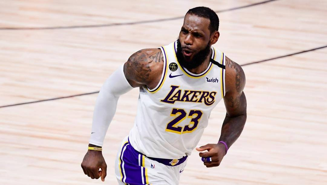 LeBron James, 35 anni, ha vinto 4 anelli in carriera. Afp