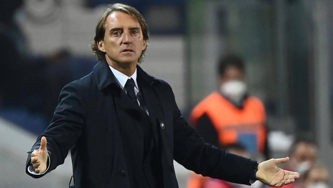 Roberto Mancini. Afp