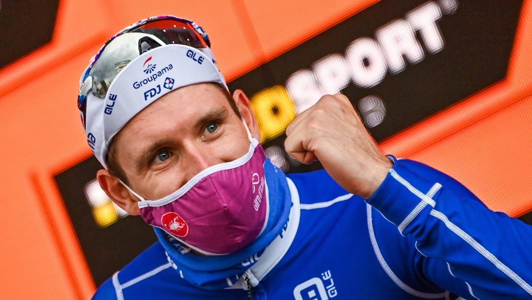 Arnaud Démare, 29 anni, 4 successi in questo Giro. LaPresse