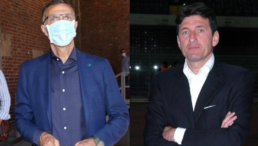Beppe Bergomi e Giovanni Galli