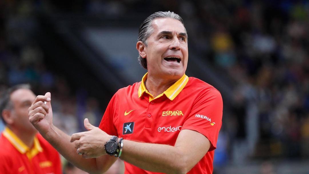 Sergio Scariolo, 59 anni. Epa
